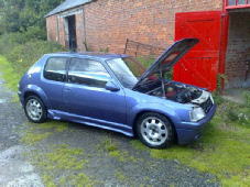 S16 205 GTI WITH BLACKBIRD CARBS AND MEGAJOLT